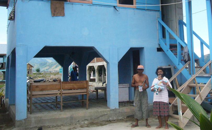 Integrated People Driven Reconstruction World Habitat