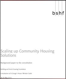 Ampliación a Escala de Soluciones de Vivienda de la Comunidad