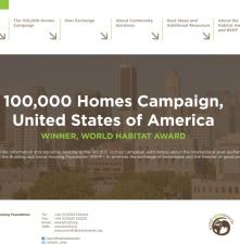 Informe: La Campaña de las 100.000 Casas y Jornadas de Intercambio