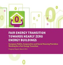 Fair Energy Transition Towards Nearly Zero Energy Buildings